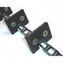 Chaine Complète à otons longueur 6m53 42 équerres pour CLAAS Lexion