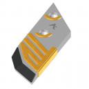 Pointe boulonnée rechargée HR2 au carbure AgriCarb PBL4054N-HRD