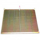 Demi grille inférieure GR/E JOHN DEERE 1237x651 mm