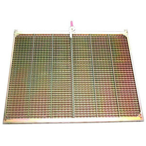 Demi grille supérieur gauche GH GR/E JOHN DEERE 1360x790 mm