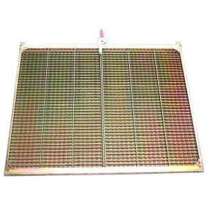 Demi grille inférieure CZ/2 DEUTZ FAHR  FENDT  MASSEY FERGUSON 1615x726 mm