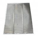 Demi grille inférieure à trous DEUTZ FAHR 1628x970 mm