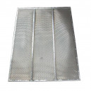 Demi grille inférieure à trous DEUTZ FAHR  FENDT  MASSEY FERGUSON 1615x726 mm