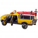 Power Wagon RAM 2500 pour maître-nageur avec figurine, Stand Up Paddle et module son et lumière