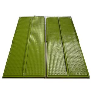 Kit de demi grille supérieure CZ/2 CLAAS 1738.4x561.85 mm