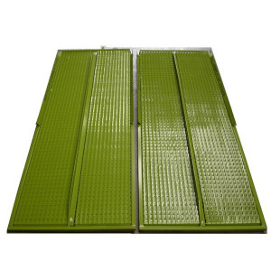 Kit de demi grille inférieure GR/E JOHN DEERE 1522x709 mm