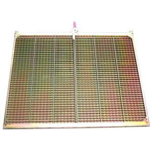 Kit de demi extension de grille GR/E FENDT LAVERDA MASSEY FERGUSON 440x770 mm
