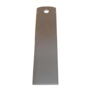 Contre-couteau REKORD 175x40x3 Trou 10.5, 1 face galbée, 2 ergots