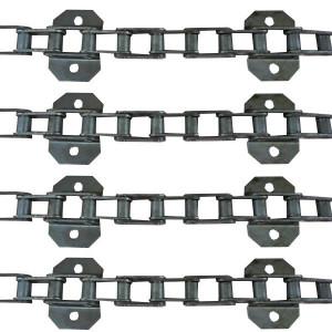 Jeu de 4 chaînes de convoyeur N° 6 CLAAS DOMINATOR 106-108-118 sl renf./6
