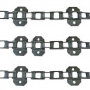 Jeu de 3 chaînes de convoyeur N° 6 CLAAS Lexion 415 a 430/510 a 530 /570 et mts