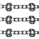 Jeu de 3 chaînes de convoyeurN° 6 FAHR 4070-4075-4080-4090 renforcé