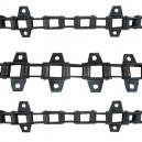Jeu de 3 chaînes de convoyeur N°4 JD 1065-1068-1075