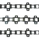 Jeu de 3 chaînes de convoyeur N°11 NH de 103 a 140 et série 1500 mod.lourd