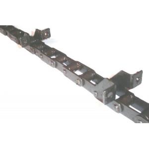 Chaine nue à grains longueur 6m15 40 équerres pour CLAAS COMMANDOR