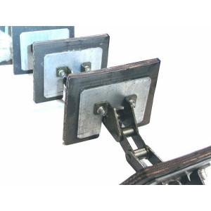 Chaine élévateurs à grains pour CLAAS Lexion 440/50/60 Ref 757220.0 ORIGINE
