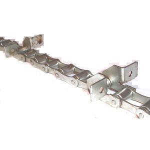 Chaine nue à otons longueur 5m96 24 équerres pour CASE IH