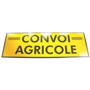 Panneau « Convoi agricole » 1200 × 400 (souple)