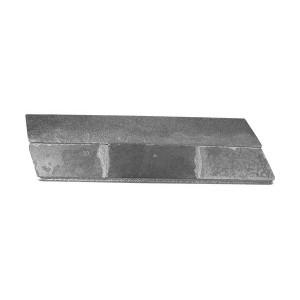 Piece à souder sur bord d'attaque de soc-lame de décompacteur AGRISEM au Carbure AgriCarb BOA0135