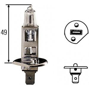 Ampoule, projecteur longue portée Hella 24 V H1 70 W