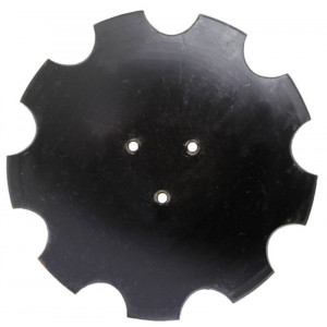 Disque HORSCH 3 trous diamètre 12.5 crénelé Ref or : 23246106
