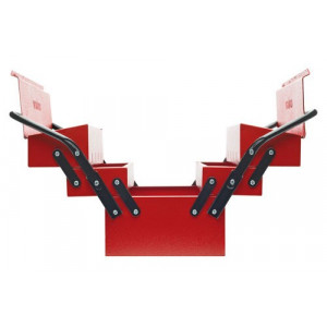 Caisse à outils métal GEDORE red