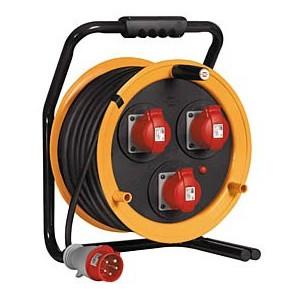 Enrouleur maxi garant CEE/16A/415V 40M 5G2,5 BRENNENSTUHL