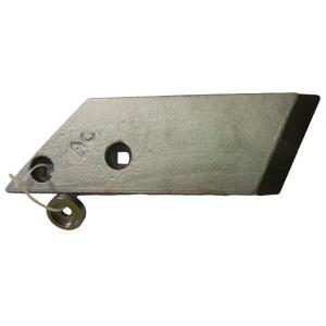 Pointe boulonnée LEMKEN au Carbure AgriCarb PBL4156