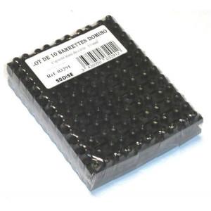 Lot 10 barrettes de 12 dominos 16mm²