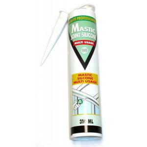 Mastic silicone translucide