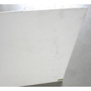 Plaque 1m² plat PE 500 NAT extrude épaisseur 30