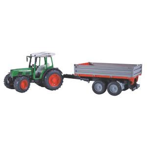 Tracteur FENDT 209 S avec remorque