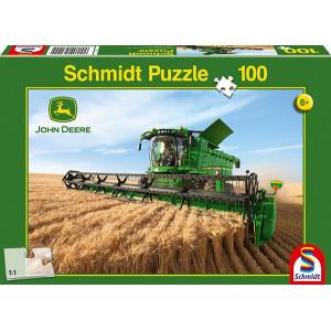 Puzzle moissonneuse batteuse JOHN DEERE 5690 100 pièces (+6 ans)