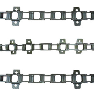 Jeu de 3 chaines de convoyeur N°18 JOHN DEERE 2054 2056 2058 2254 2256 2258 (Montage non oscillant)