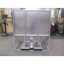 Container de stockage galvanisé 2.15m3