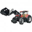 Tracteur CASE IH Optum 300 CVX avec chargeur